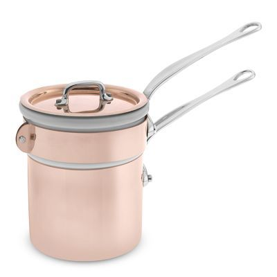 Mauviel M365 Copper 0.8-Qt Double Boiler