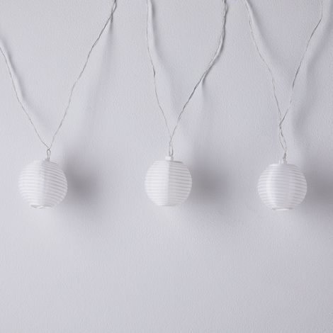 Round Solar String Light