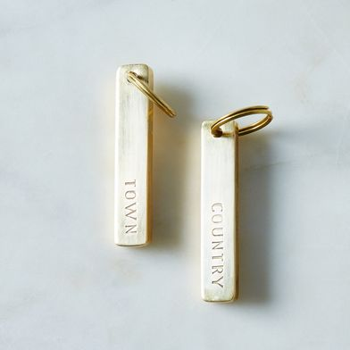 Town & Country Key Chain Set