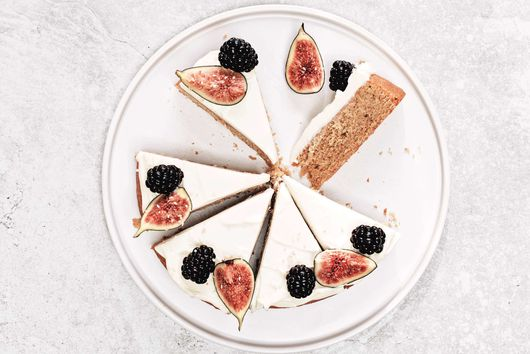 Fig, Blackberry & Tahini Cake From Benjamina Ebuehi