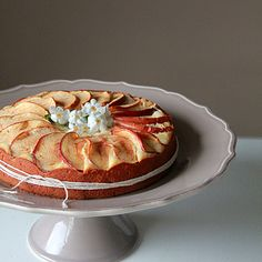 Lemon Yogurt Apple Cake