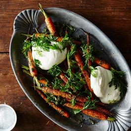 1fcc66d3 6fcc 46ff b45e 7bdd9ae58bc6  2015 0504 carrot top pesto with carrots and burrata 005 jr 1