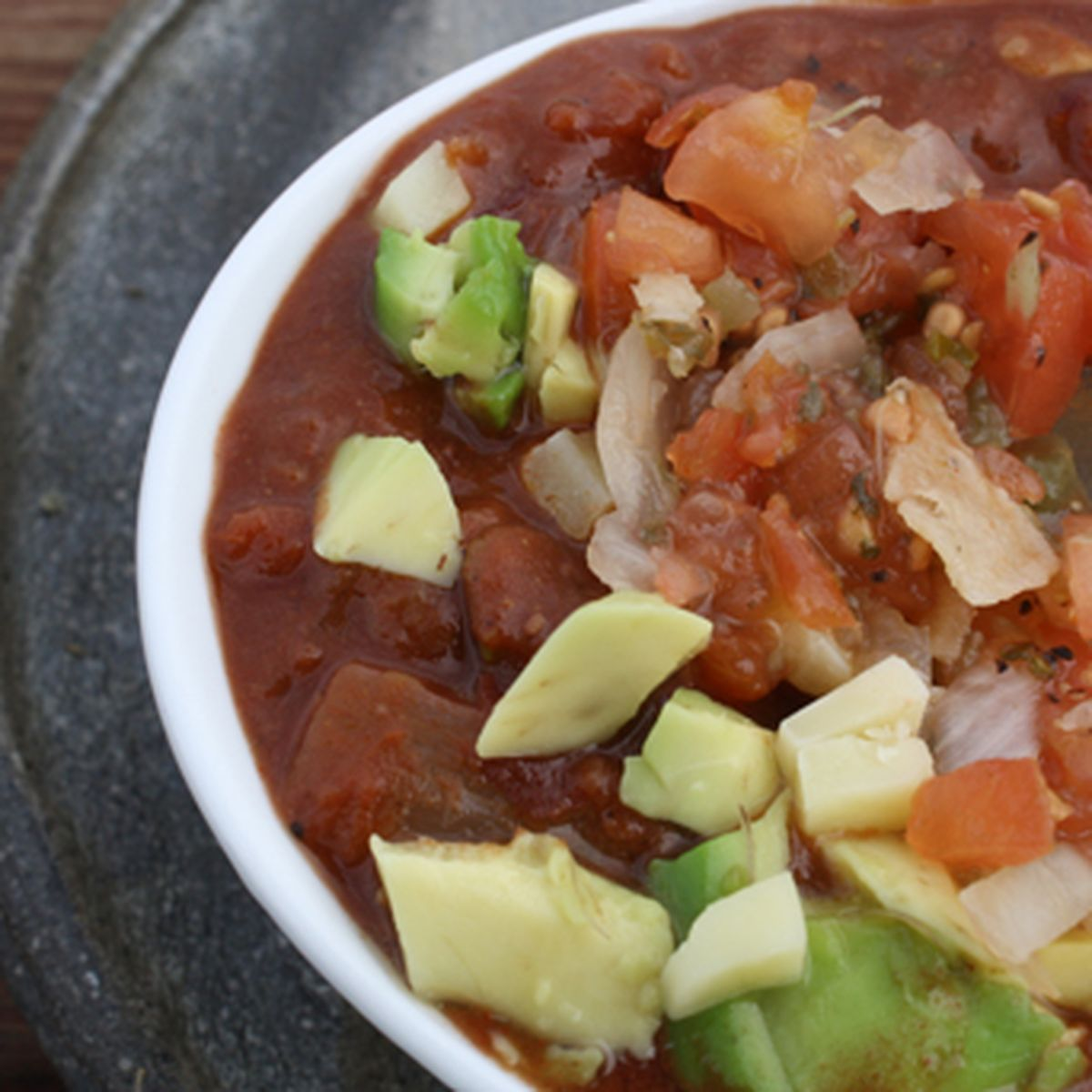 Crockpot Vegetarian Chili With Chocolate Recipe On Food52