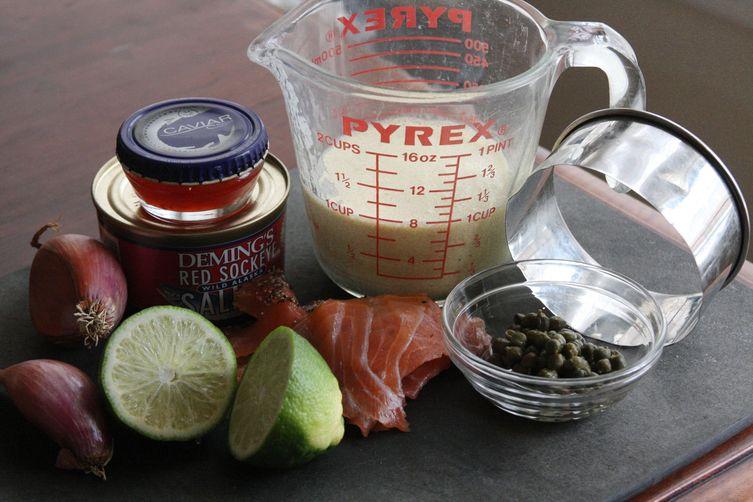 Two-Way Smoked Salmon and Caviar Pate