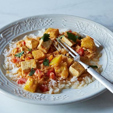 Kabocha Squash and Tofu Curry