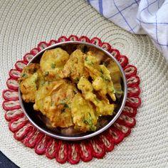 Bengali Potato and Pumpkin Fritters