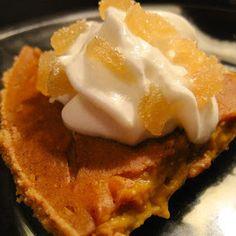 Tofu Pumpkin Pie