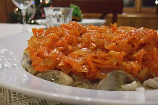 Herring with Sweet Carrots