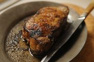 Broiled New York Steak