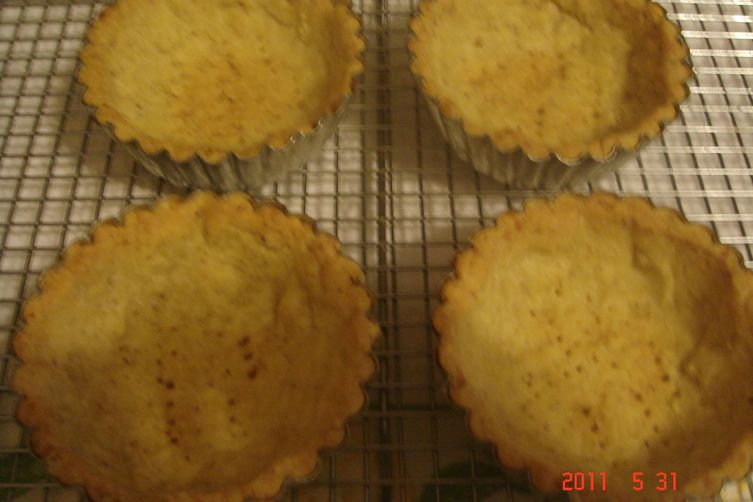 Toasted Almond,Coconut Sweet Pastry Crust (Pate Sucree)