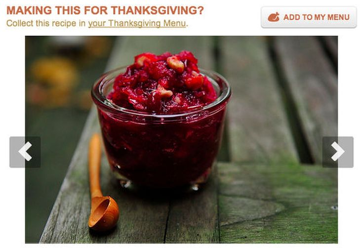 Introducing the Food52 Thanksgiving Menu Tool