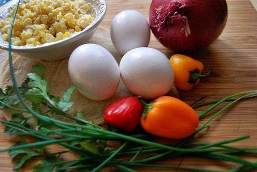 Southwest Breakfast Corn Frittata