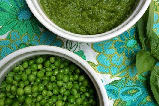 GREEN PEA AND BASIL RISOTTO