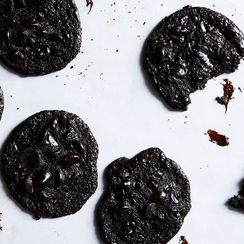 Colpa Degno (Flourless Triple-Chocolate Cookies)