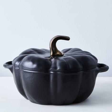Staub Cast Iron Pumpkin Cocotte, 3.5QT