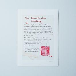 Emiko Davies's Your Favorite Jam Crostata Recipe Print