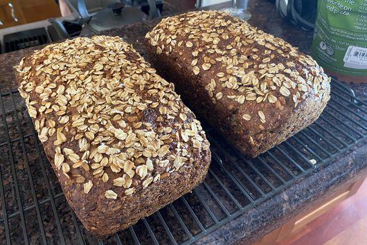 German Sourdough Whole Grain Bread