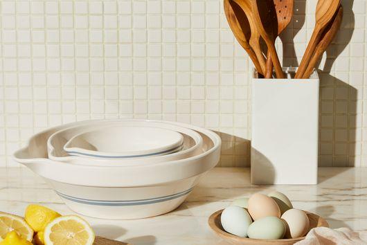 Five Two Stoneware Mixing Bowls