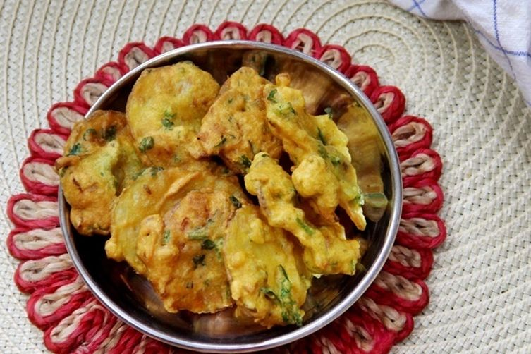 Bengali Potato and Pumpkin Fritters