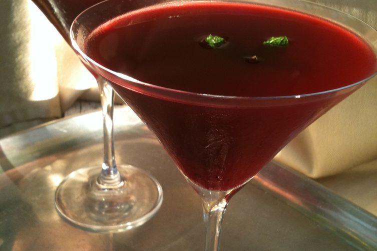 Perfect and Pretty Pom Martini