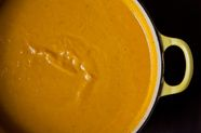 Creamy Butternut Squash Soup with Sherry