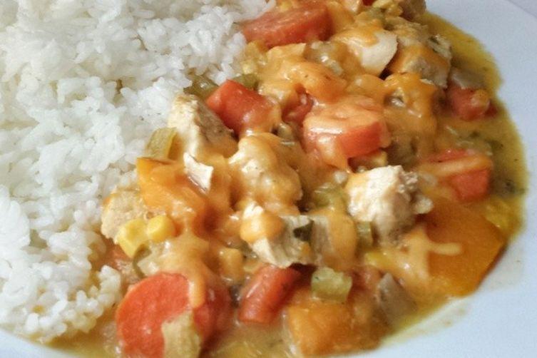 Japanese Cream Stew (クリームシチュ)