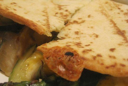 Asparagus and Zucchini Quesadillas