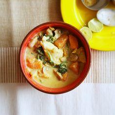 Basa Fish and Sweet Potato Curry