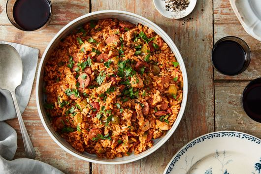 'Thankful for Leftover Turkey' Jambalaya