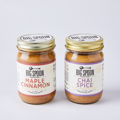 Handcrafted Nut Butter, Set of 2