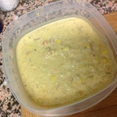 Corn and crab chowder in the dead of winter