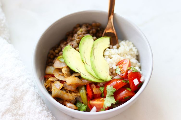 Protein packed mexican bowl