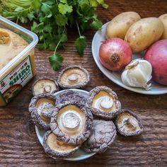 Shiitake Mushroom and Potato Miso Stew