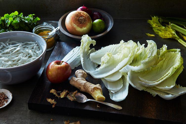 "Andrea Nguyen's Vegan ""Chicken"" Phở"