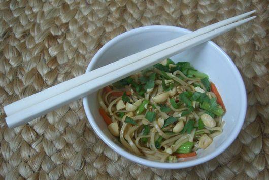 Sesame Noodles with Thai Basil