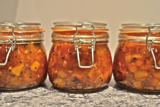 Spicy Sweet Mango Chutney