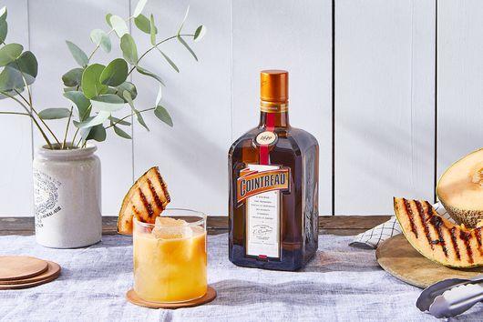 Grilled Cantaloupe Margarita