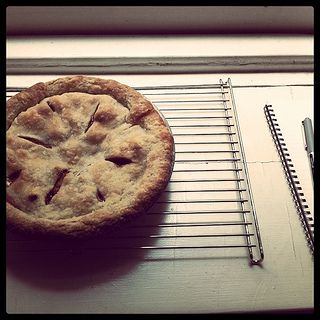 Pie baked on Friday morning