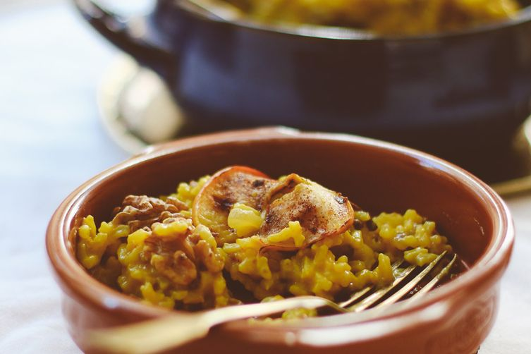 Lentil Risotto with a Persian Twist