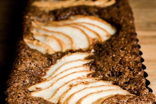 Pear and Hazlenut Tart - Gluten Free & Dairy Free