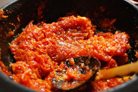 Tomato or (fresh cranberries) Chutney