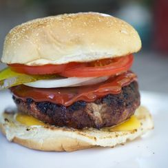 The Classic All-American Burger