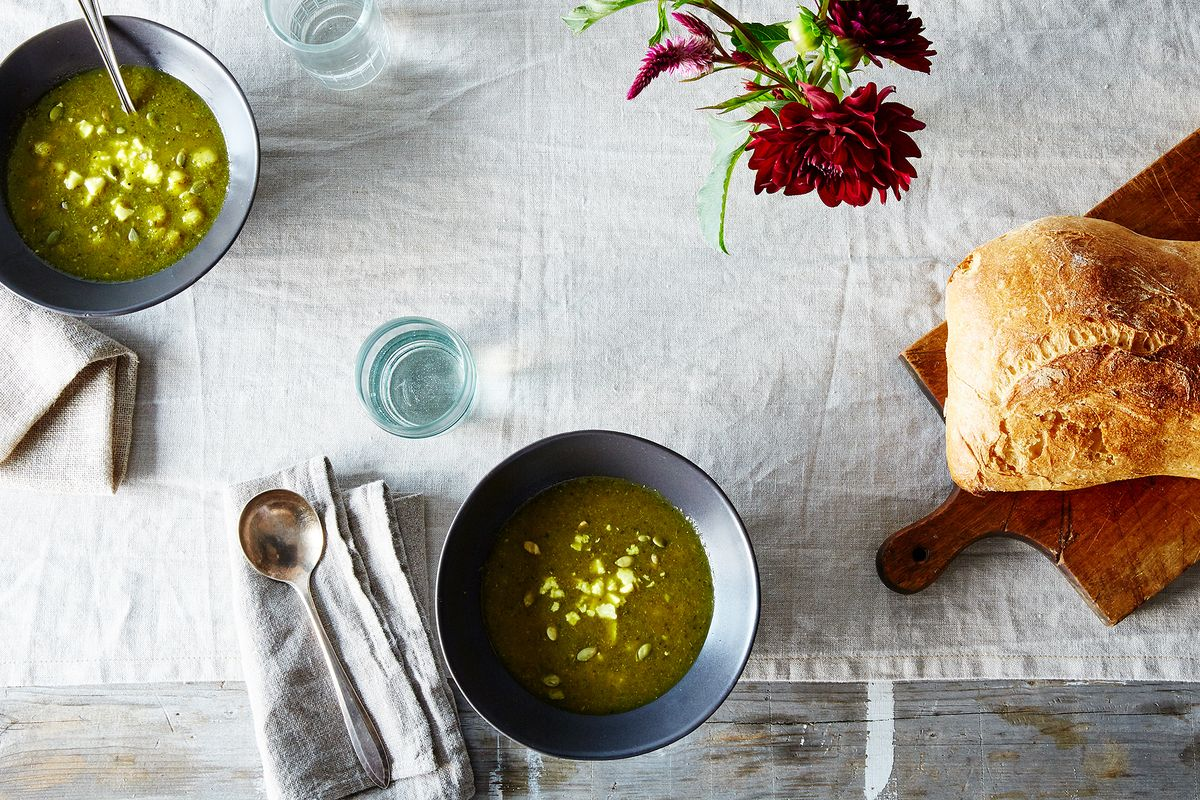 Heidi Swanson\'s Spicy Green Soup Recipe on Food52