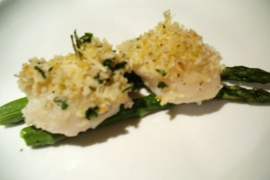 Very Simple Baked Scallops