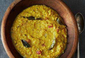 A Simple Homey, Coconut-y Red Lentil Dal