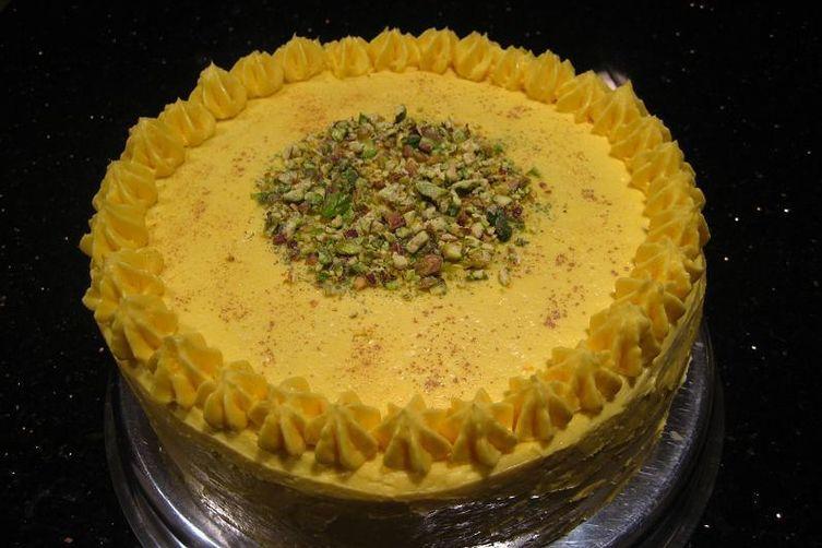 Mango Kulfi Cake