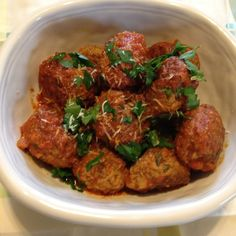 Mom's Meatballs and Tomato Sauce
