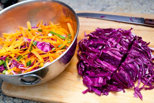 miso cabbage salad