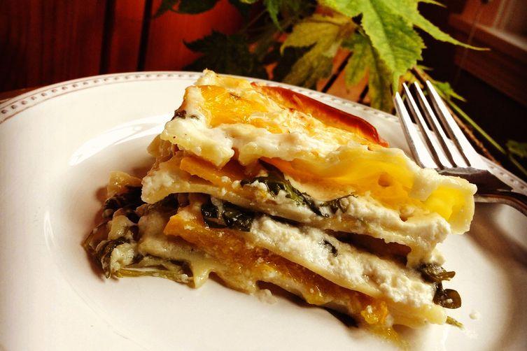 Delicata Squash Lasagna