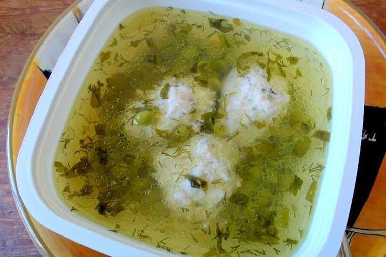 Chicken-Tofu Meatball Miso Soup